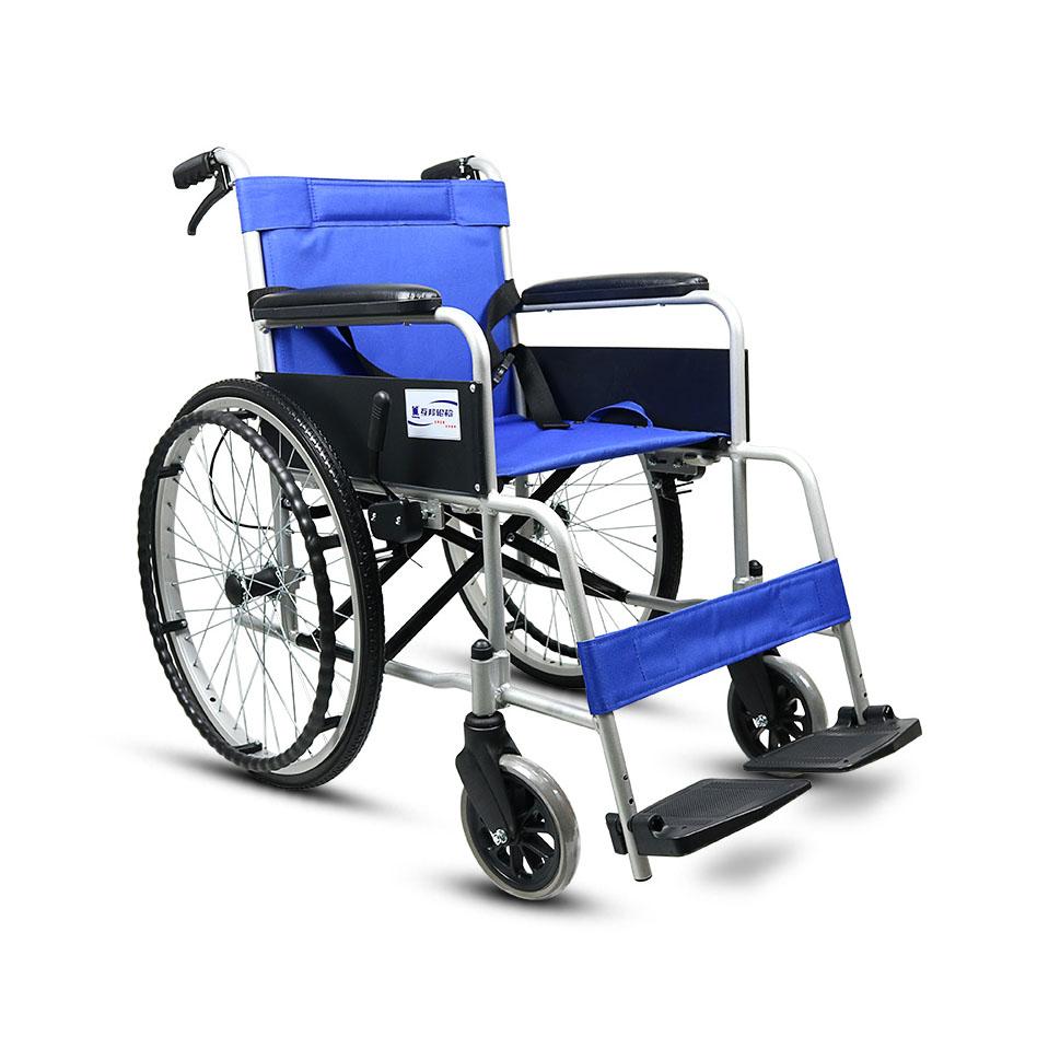 轮椅折叠老人便携轮椅